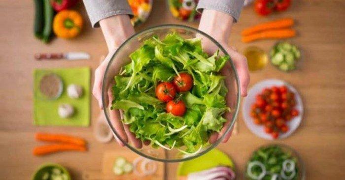 chế độ ăn chay lành mạnh tốt cho sức khỏe