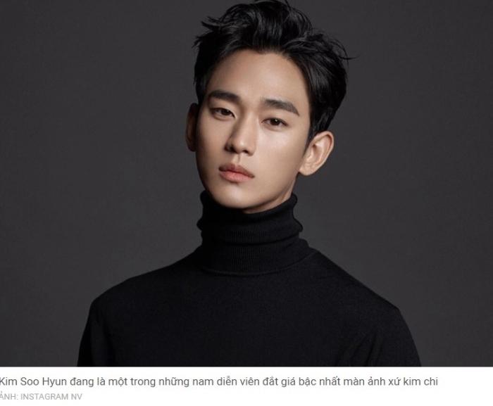 Kim Soo Hyun gây xôn xao với mức cát-xê 10 tỷ đồng/tập...; Kim Soo Hyun phim mới; Phim mới của Kim Soo Hyun 2020; Kim So Hyun phim mới 2021; ; Phim của Kim So Hyun 2020; Kim Soo Hyun và Seo Ye Ji.