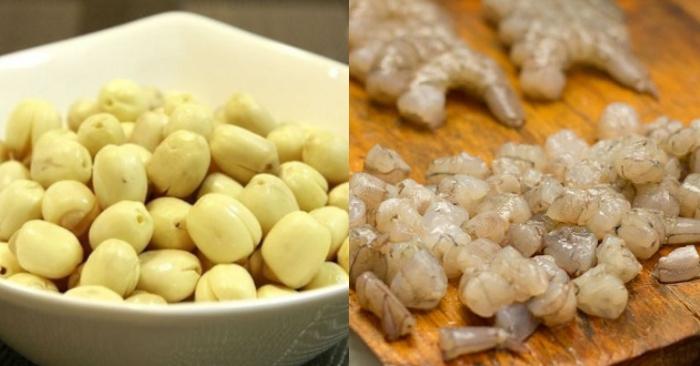 Cháo hạt sen rau ngót cho bé; công thức nấu ăn bằng tiếng anh; tập nấu ăn; ẩm thực; cách làm món.